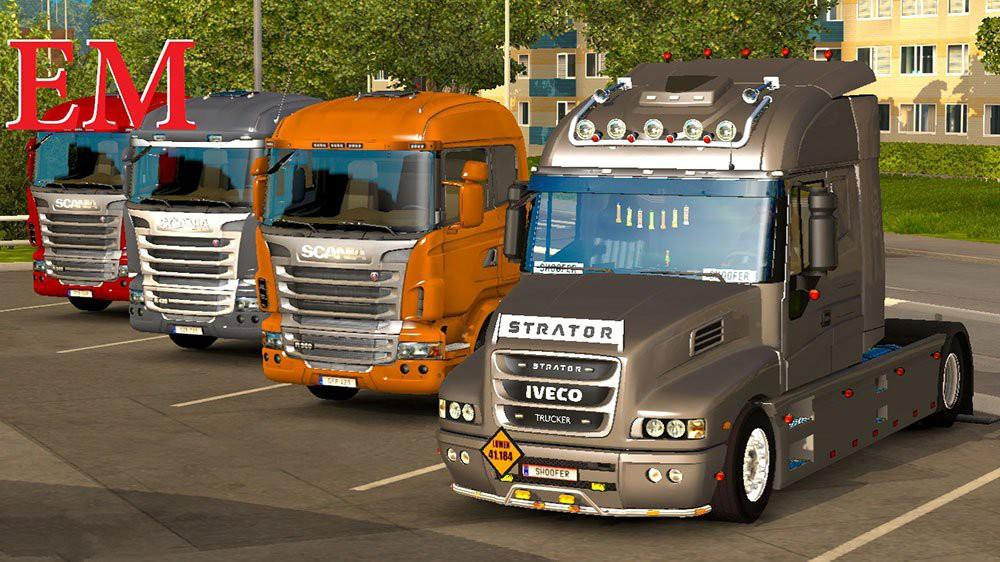 Wiring Diagram Volvo Fh12 : Iveco strator and volvo fh tuning ets mods euro truck