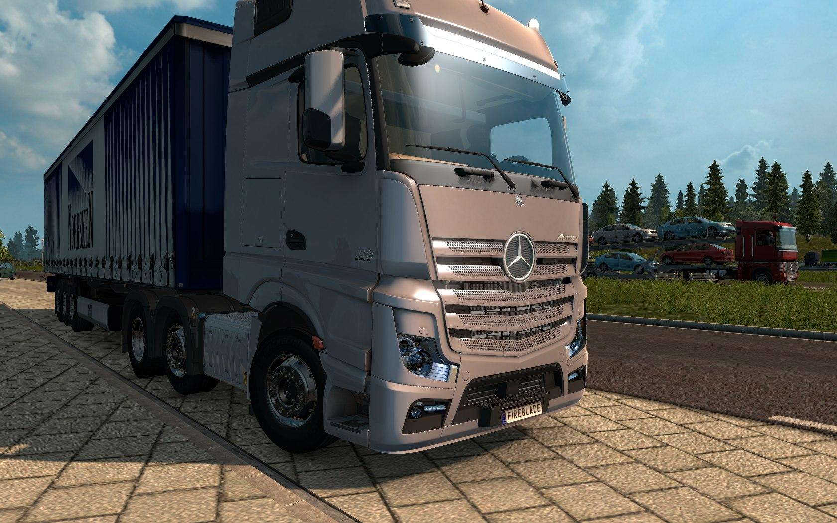 Iveco strator and volvo fh 2013 tuning euro truck simulator 2 mods - Mercedes Actros Mp4 1 22 Ets 2 Mods Euro Truck