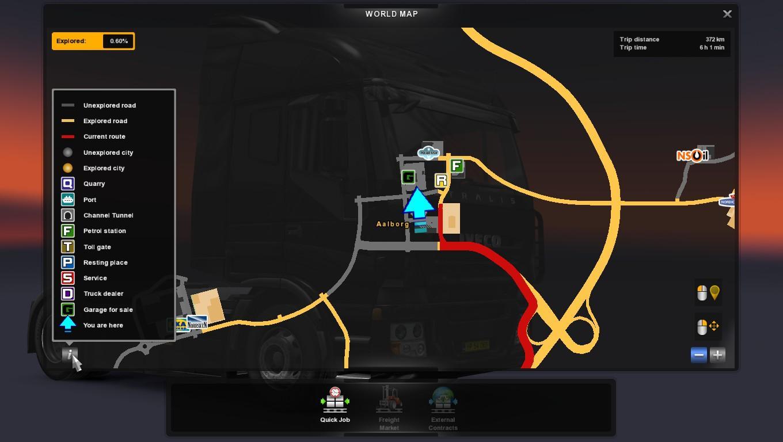 New Map Symbols Full Version Ets2 Mods Euro Truck Simulator 2