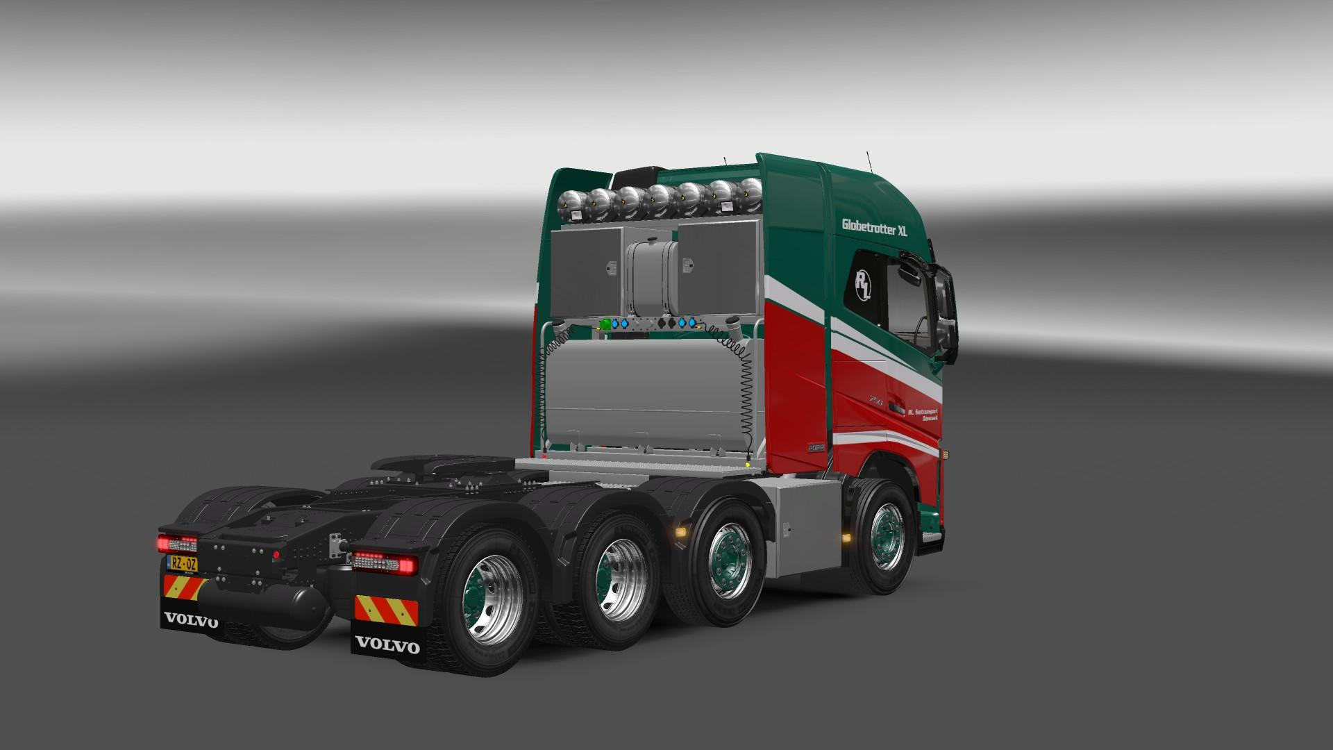 Volvo Fh 2013 8x4 1 22 Ets2 Mods Euro Truck Simulator