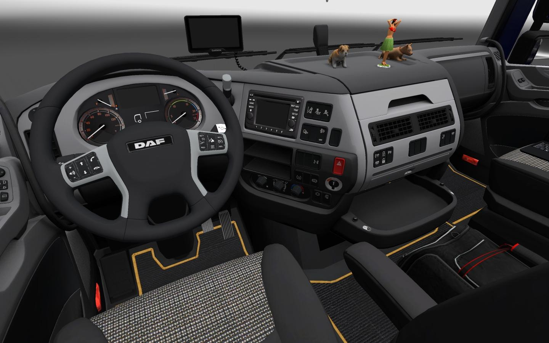 DAF XF EURO 6 INTERIOR   ETS2 mods   Euro truck simulator 2 mods ...