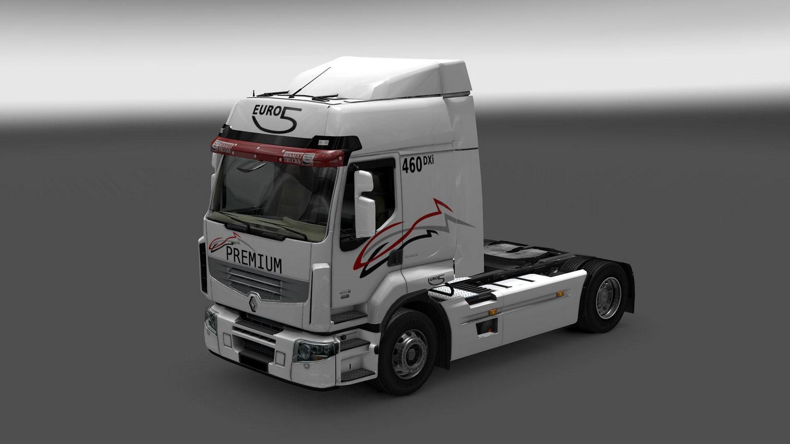 Seat Skins For Trucks >> RENAULT PREMIUM V2.4 | ETS2 mods | Euro truck simulator 2 mods - ETS2MODS.LT