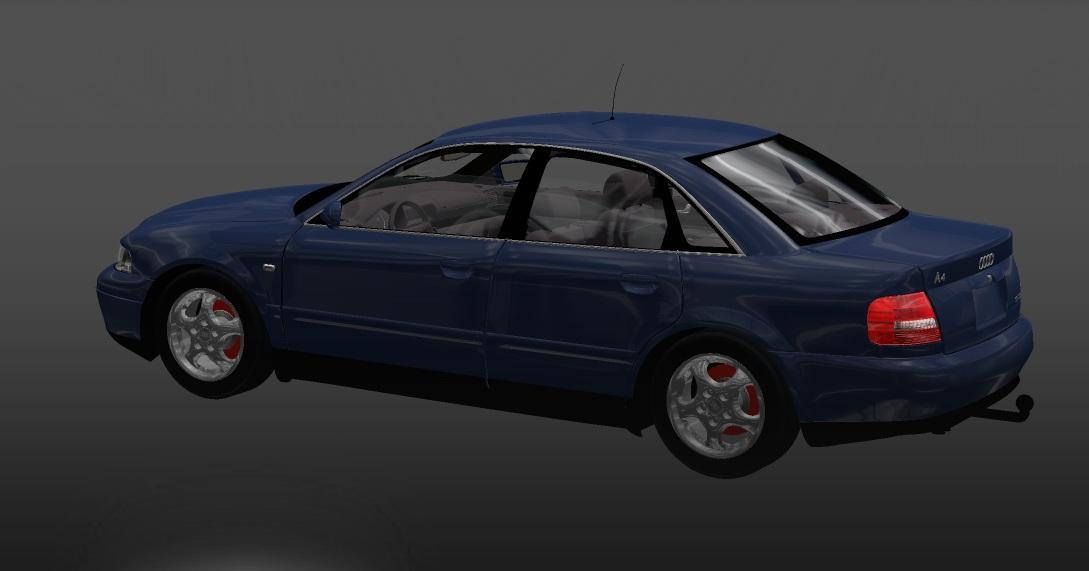 Audi A4 Interior V1 22 By Samo Ets2 Mods Euro Truck Simulator