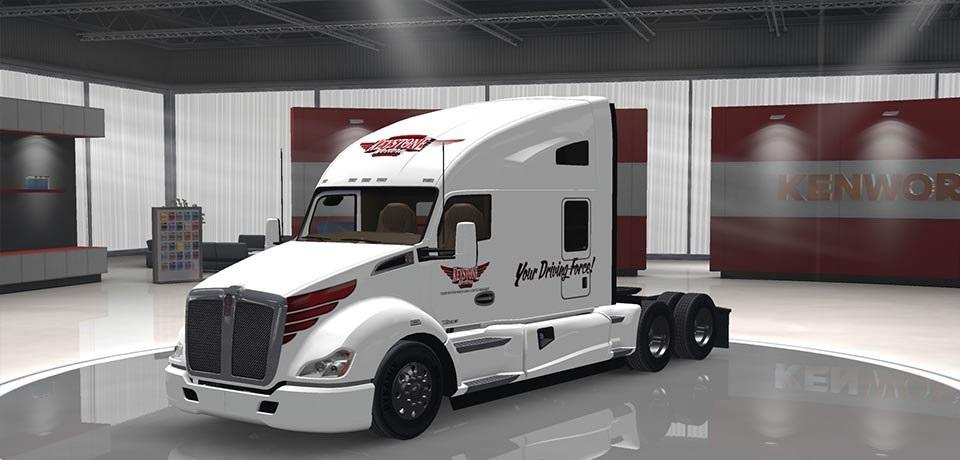 Iveco strator and volvo fh 2013 tuning euro truck simulator 2 mods - Kenworth 680 Keystone Western Skin Ets 2 Mods Euro