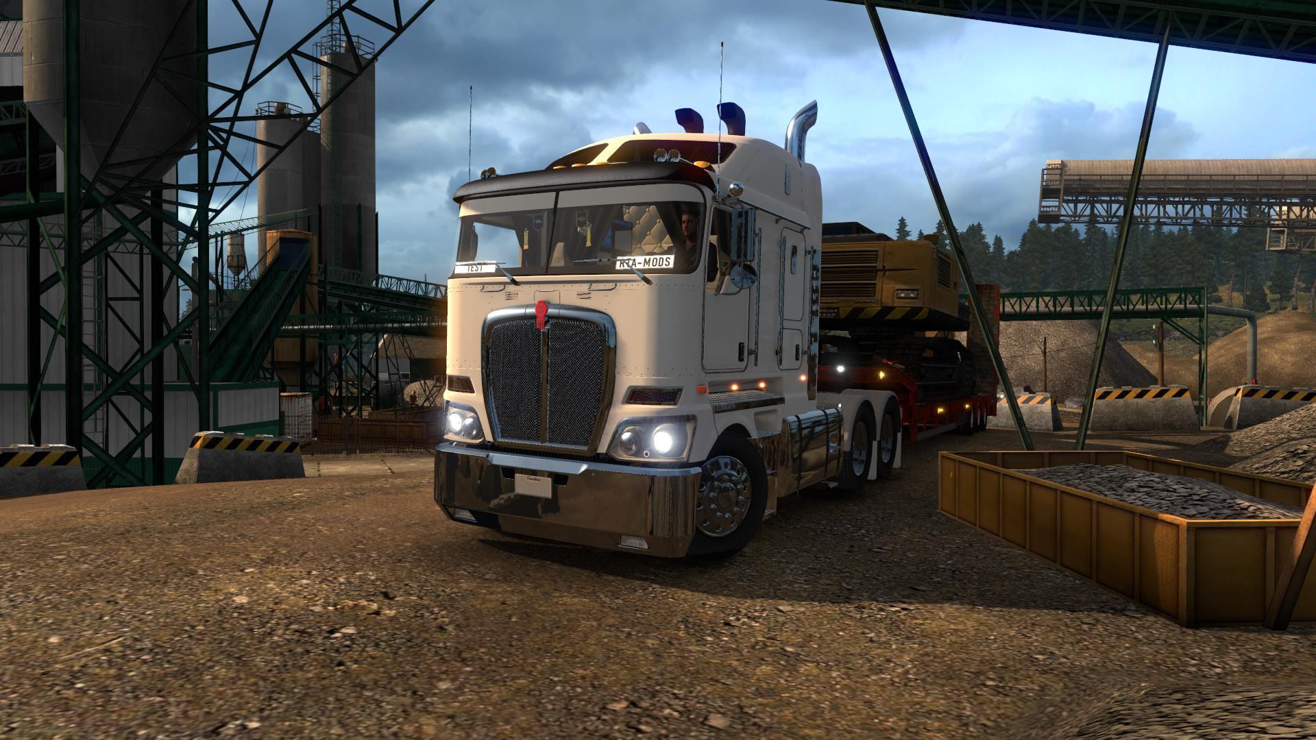 KENWORTH K200 V11.0 | ETS2 mods | Euro truck simulator 2 mods - ETS2MODS.LT