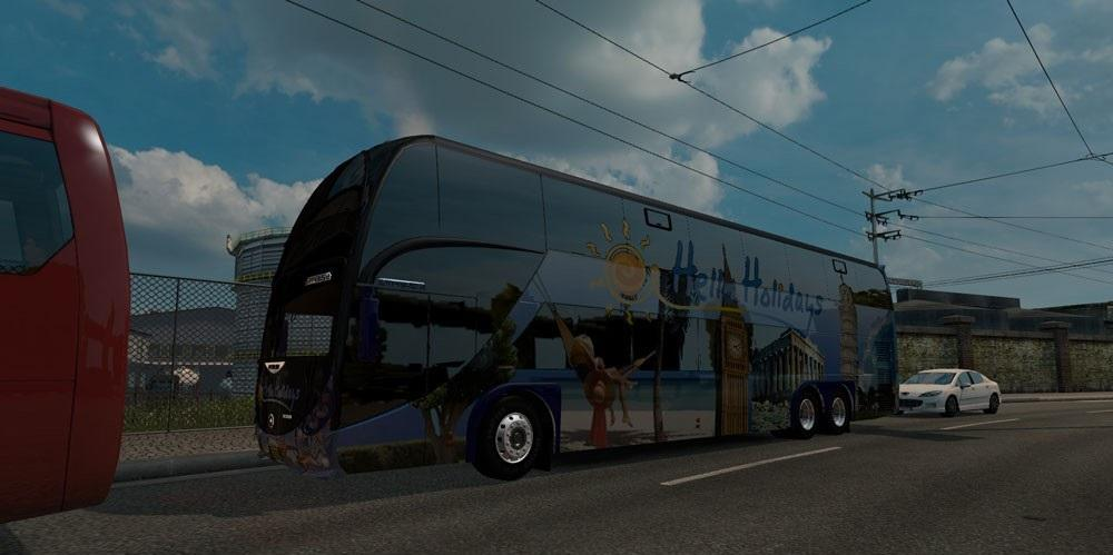 BIG BUS TRAFFIC PACK | ETS2 mods | Euro truck simulator 2