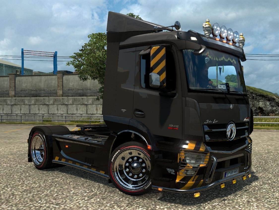 Devil Rims Tire 2 V1 1 Ets2 Mods Euro Truck Simulator 2 Mods Ets2mods Lt
