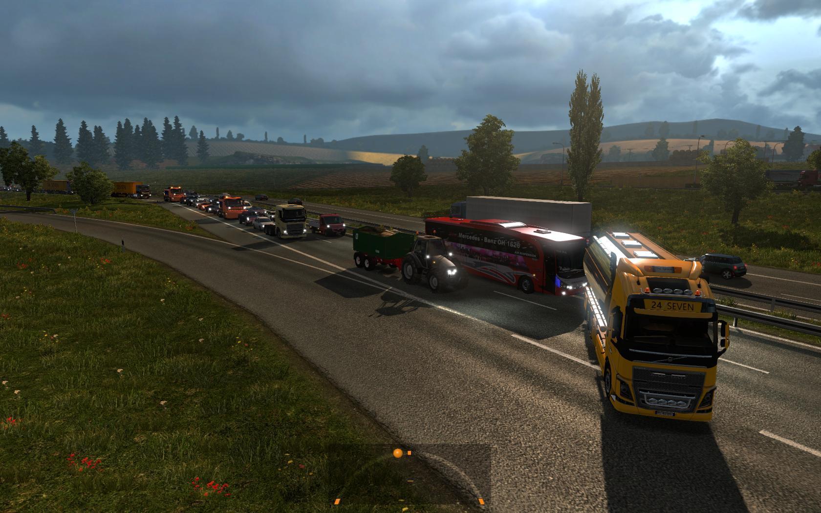 BIG TRAFFIC MOD V1 23 | ETS2 mods | Euro truck simulator 2