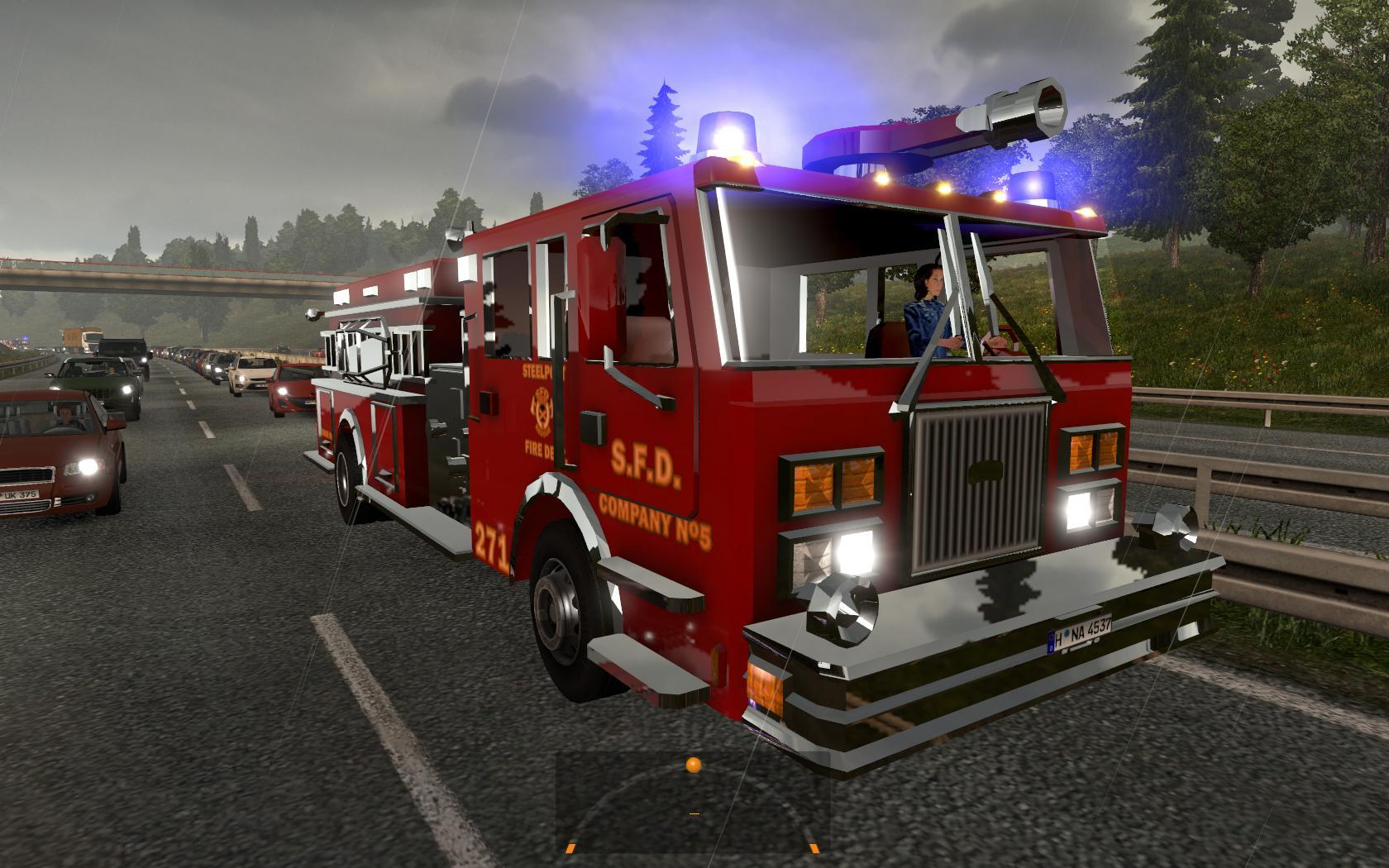 GREAT MOD ON TRAFFIC 1 23 XX | ETS2 mods | Euro truck