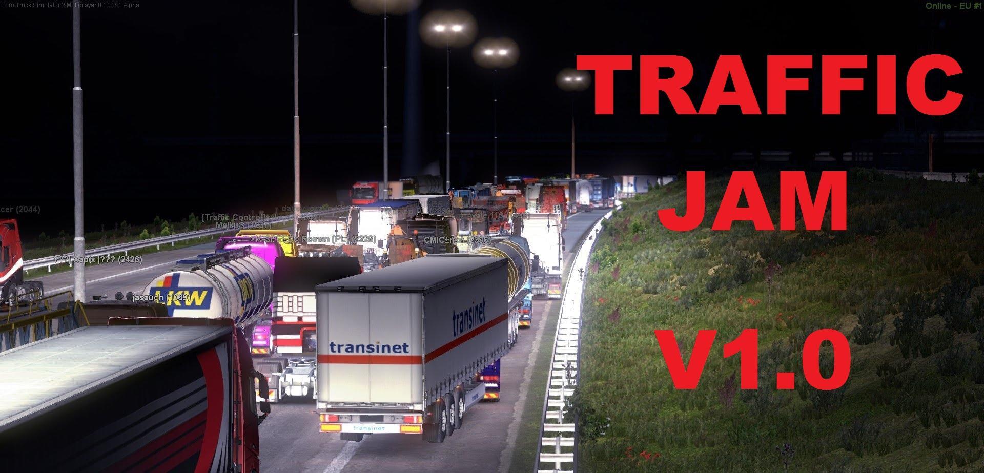 TRAFFIC JAM V1 2 | ETS2 mods | Euro truck simulator 2 mods