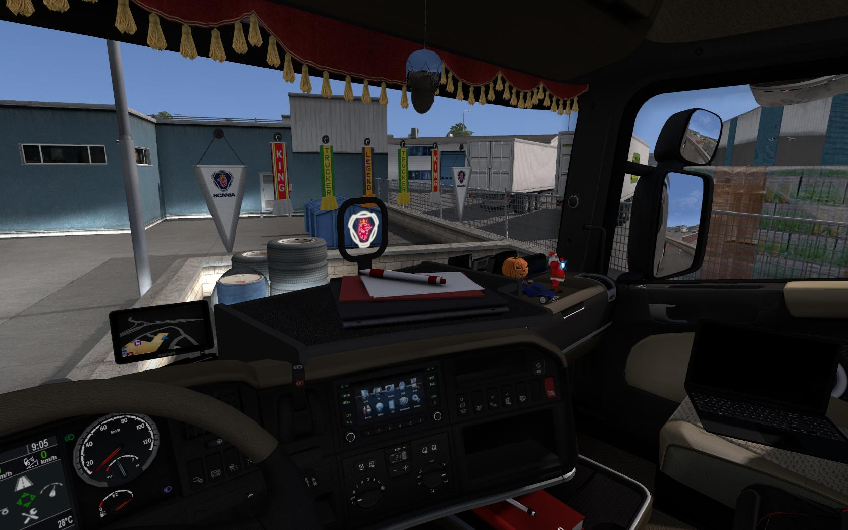 scania r s series ets2 mods euro truck. Black Bedroom Furniture Sets. Home Design Ideas