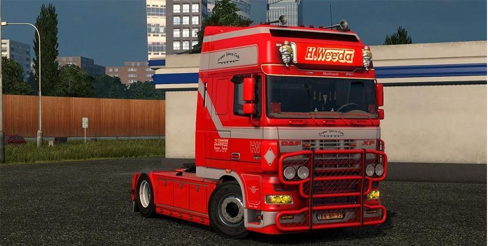 Daf Xf Super Space Cab Weeda Ets 2 Mods Euro Truck Simulator 2 Mods Ets2mods Lt
