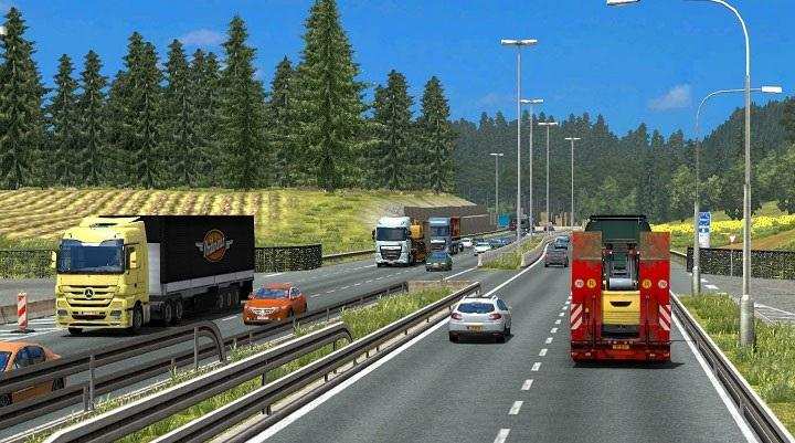 TRAFFIC DENSITY FOR 1 24 (RELEASE) | ETS2 mods | Euro truck