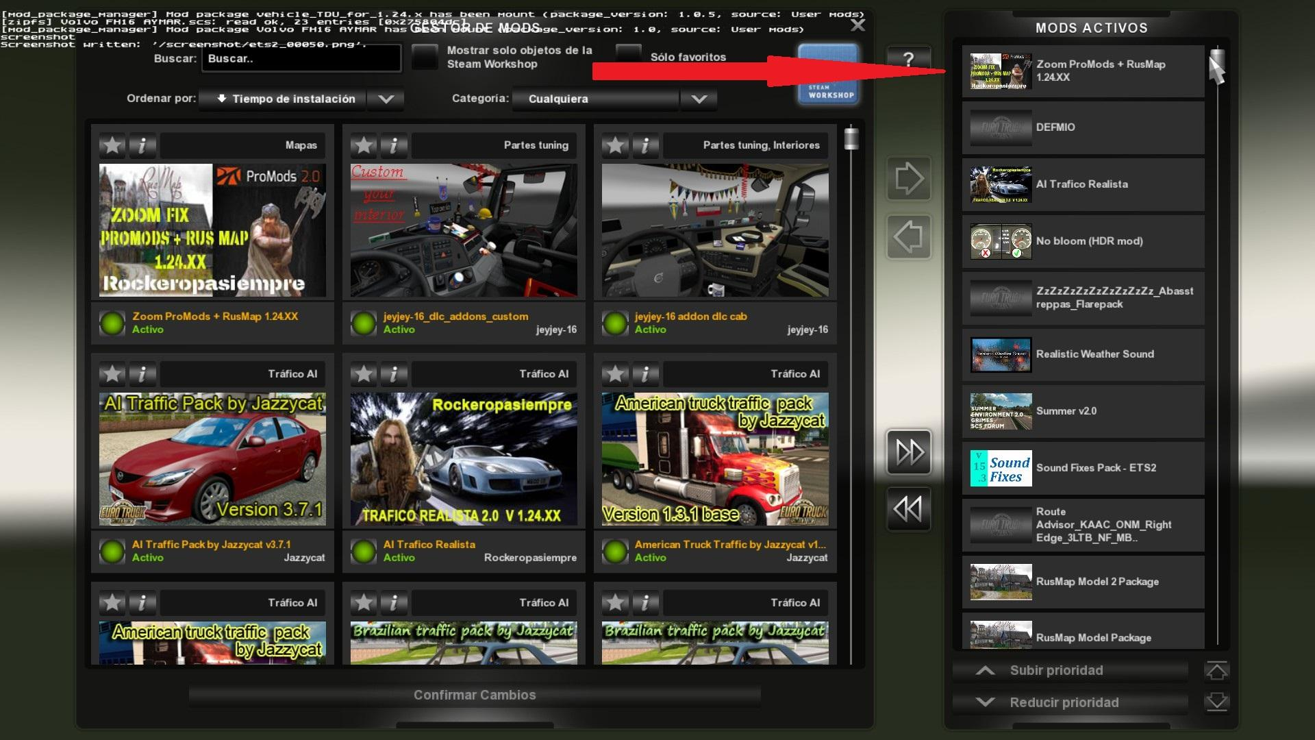 PROMODS + RUSMAP ZOOM BY ROCKEROPASIEMPRE | ETS2 mods | Euro