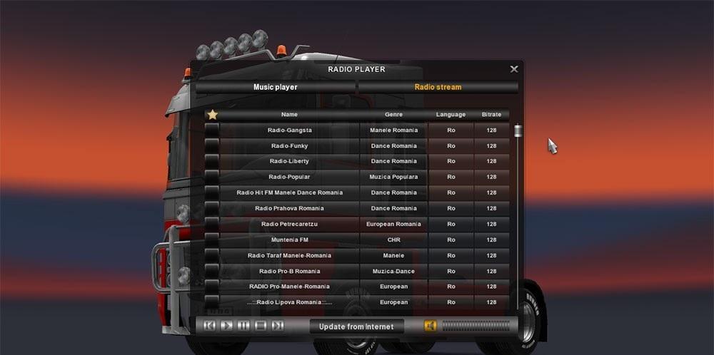 ROMANIA RADIO 1 24 X   ETS2 mods   Euro truck simulator 2