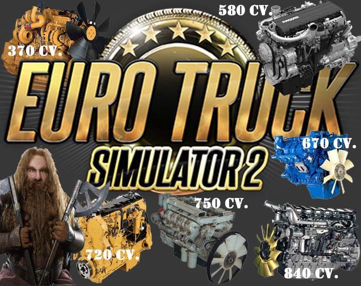 Runner Pack V2 0 Engines 1 24 X Ets2 Mods Euro Truck