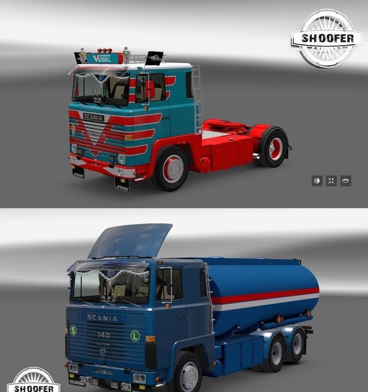Volvo 240 Engine Mods: Euro Truck Simulator 2