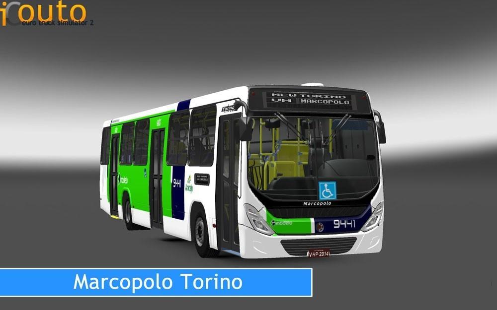 MARCOPOLO TORINO | ETS2 mods | Euro truck simulator 2 mods - ETS2MODS.LT