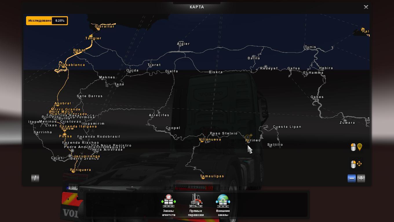 AFRICA MAP FOR PROMODS V2.11 | ETS2 mods | Euro truck simulator 2