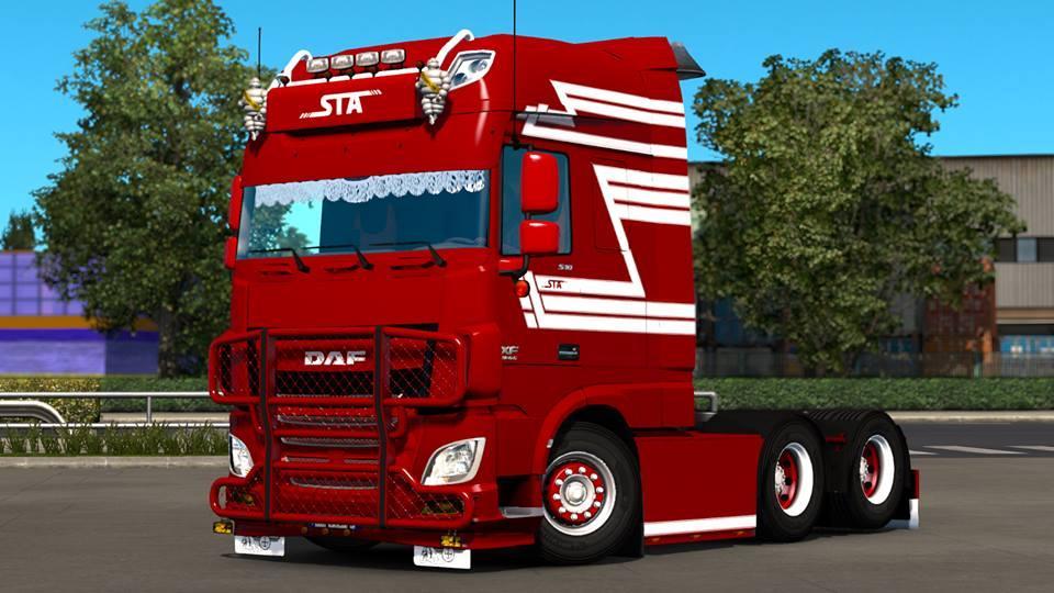 DAF EURO 6 1 24 | ETS2 mods | Euro truck simulator 2 mods