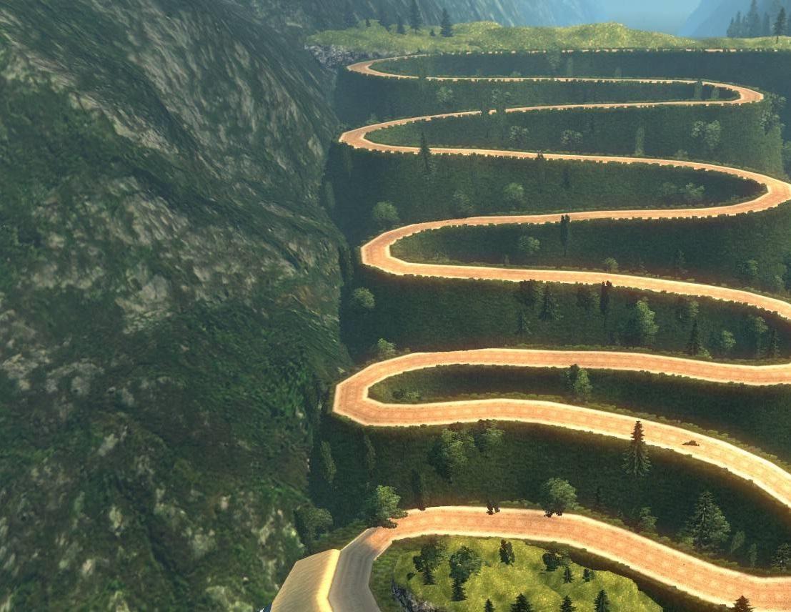 Dangerous Roads Map Ets2 Mods Euro Truck Simulator 2 Mods Ets2mods Lt