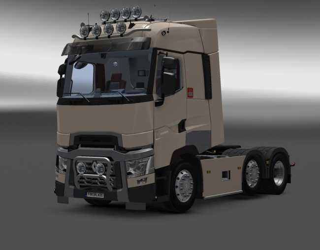 RENAULT T NEW INTERIOR V6.0 1.25.X - 1.26.X | ETS2 mods | Euro truck ...