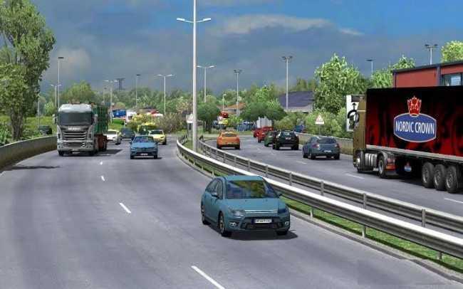 TRAFFIC DENSITY MOD FOR ETS2 1 26 | ETS2 mods | Euro truck