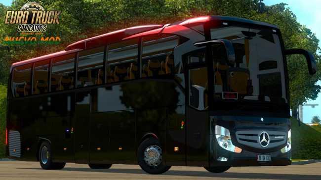Mercedes Benz Travego Bus Mod Ets2 Mods Euro Truck Simulator 2