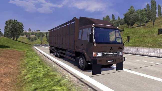 MITSUBISHI FUSO COWS LOGISTICS | ETS2 mods | Euro truck