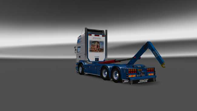 SCANIA ABROLL 1 26 2 2S | ETS2 mods | Euro truck simulator 2