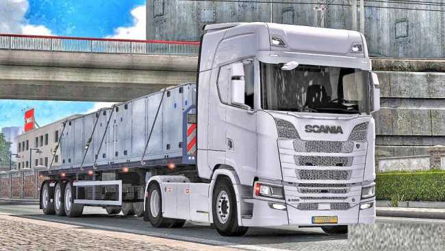 scania s series minor bugs fixed number plate ets 2. Black Bedroom Furniture Sets. Home Design Ideas