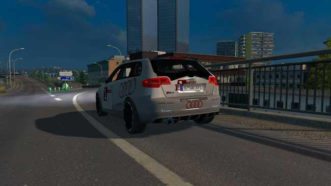 AUDI RS3 V1 | ETS2 mods | Euro truck simulator 2 mods - ETS2MODS.LT