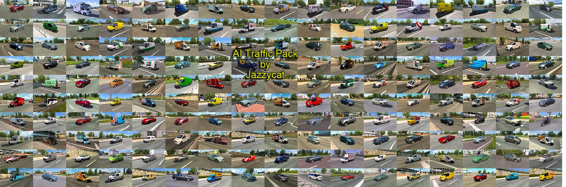 Ai Traffic Pack By Jazzycat V4 4 Ets2 Mods Euro Truck Simulator 2 Mods Ets2mods Lt