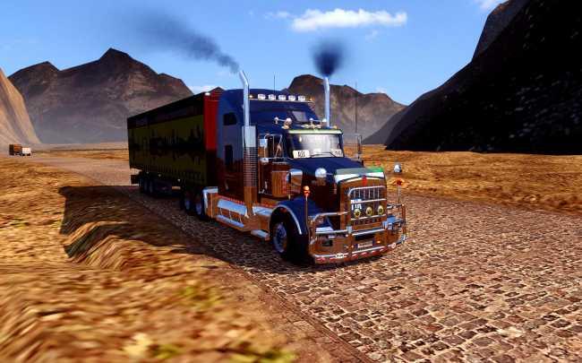 MARIO MAP V122 UPDATE 126  ETS 2 mods  Euro truck simulator