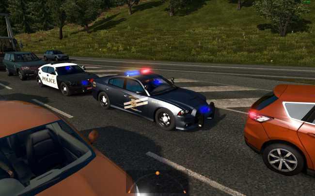 Usa Police Traffic 1 26 Ets2 Mods Euro Truck Simulator 2 Mods