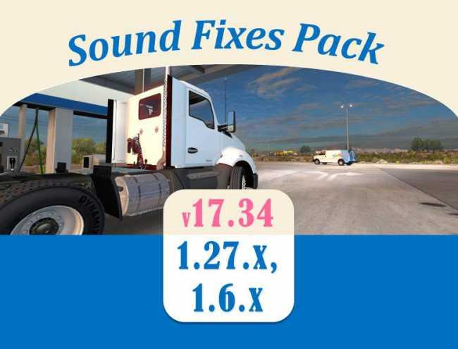 SOUND FIXES PACK V17 34   ETS2 mods   Euro truck simulator 2 mods