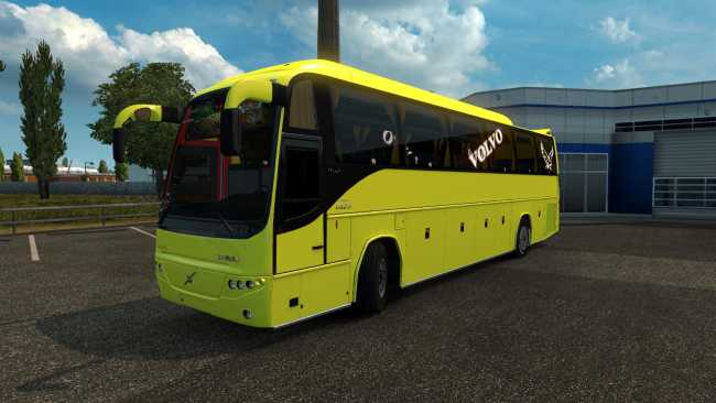 VOLVO B12B TX + MOD FOR PASSENGERS ONLY FOR 1 27   ETS2 mods