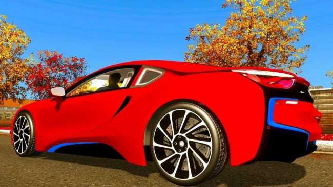 Bmw I8 2016 V8 0 For V1 27 Ets2 Mods Euro Truck Simulator 2 Mods