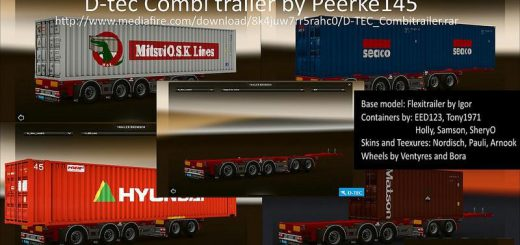 ETS2 Trailers - ETS2 mods   Euro truck simulator 2 mods