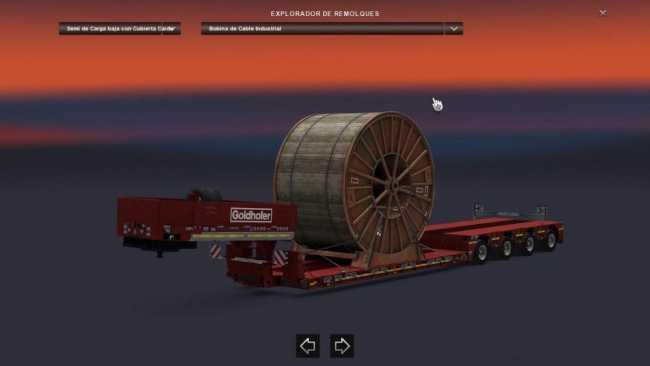 goldhofer heavy cargo pack ets2 mods euro truck. Black Bedroom Furniture Sets. Home Design Ideas