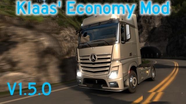 KLAAS' ECONOMY MOD V1 5 0 | ETS2 mods | Euro truck simulator 2 mods