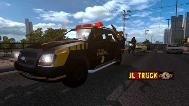 Police Escort V1 1 1 Ets2 Mods Euro Truck Simulator 2 Mods