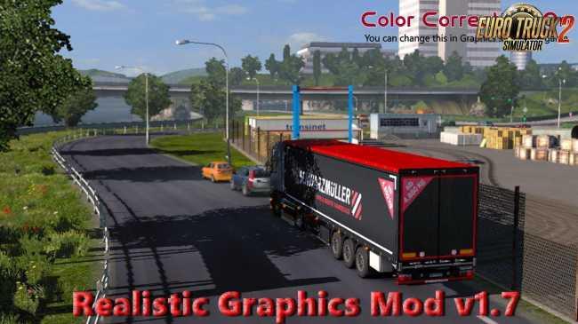 REALISTIC GRAPHICS MOD V1 8 (1 27 X) | ETS2 mods | Euro truck