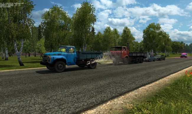 RUSSIAN OPEN SPACES V50 127  ETS 2 mods  Euro truck