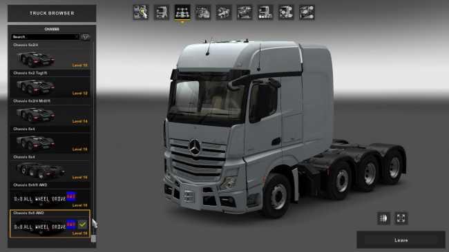 8X8 ALL WHEEL DRIVE 1.27.X   ETS2 mods   Euro truck simulator 2 mods - ETS2MODS.LT