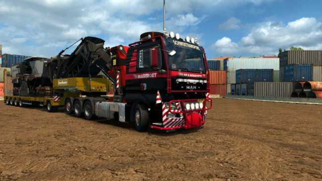 MAN TGX 2010 V3 6 BY XBS | ETS2 mods | Euro truck simulator 2 mods