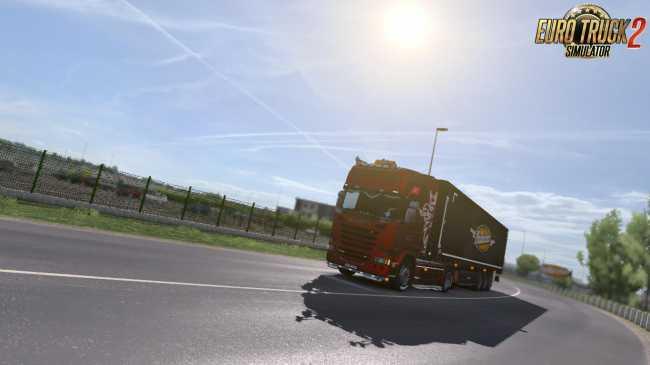 REALISTIC GRAPHICS MOD V1 7 8 (1 27 X) | ETS2 mods | Euro truck
