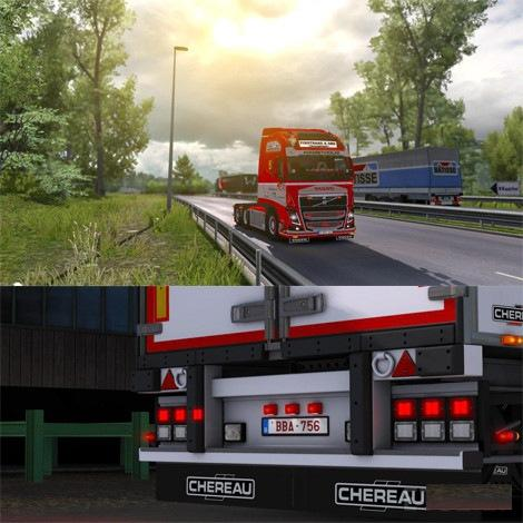 REAL GRAPHIC HD 1 27 X | ETS2 mods | Euro truck simulator 2
