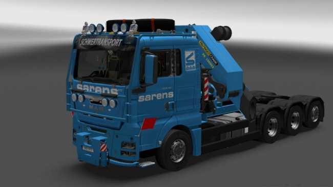 MAN TGX 2010 V3 8 BY XBS | ETS2 mods | Euro truck simulator