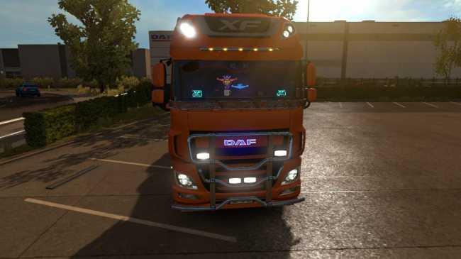 DAF TUNING PACK DLC MOD | ETS2 mods | Euro truck simulator 2